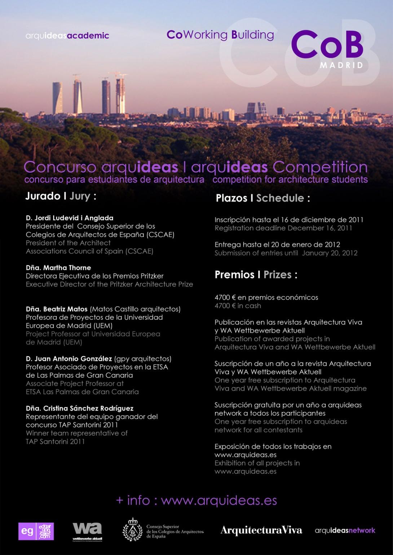 Concurso para estudiantes de arquitectura