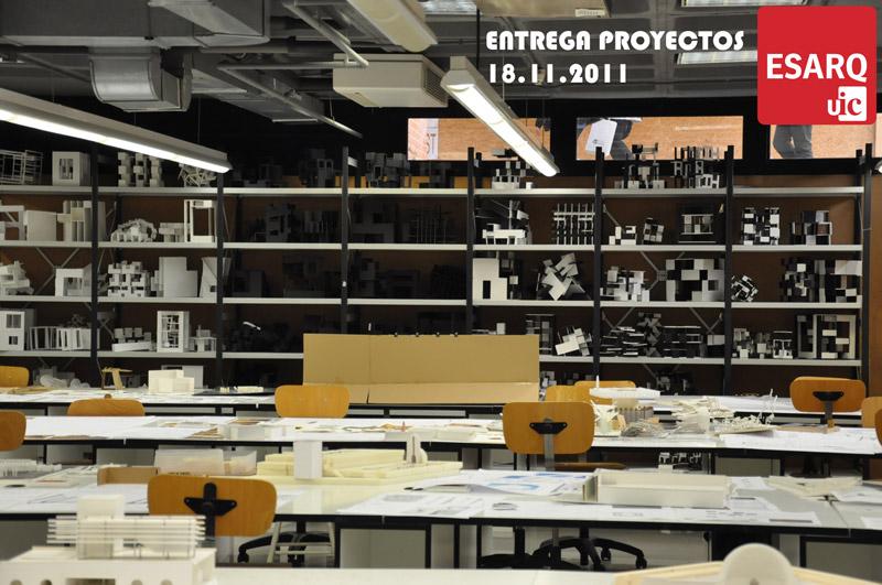 Entrega de Proyectos ESARQ UIC
