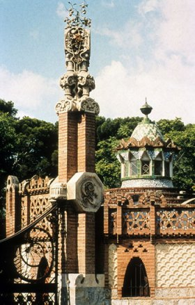 pavellons guell