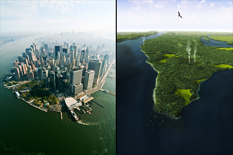 Manhattan 2009 vs 1609