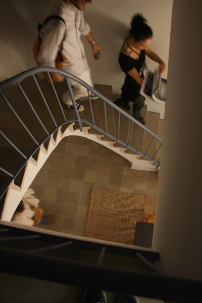 Escales del dúplex. Casa Bloc