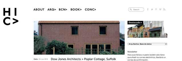 HIC> blog de arquitectura