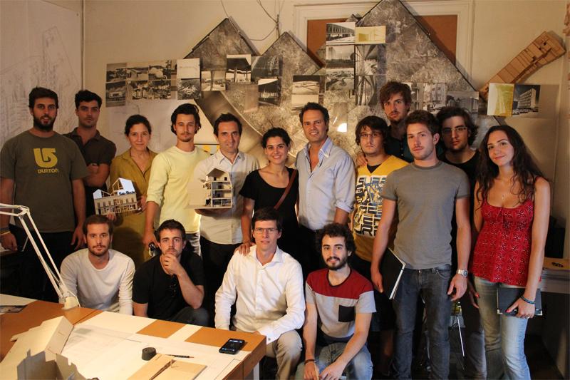 Visita al estudio Flores & Prats Arquitectos.