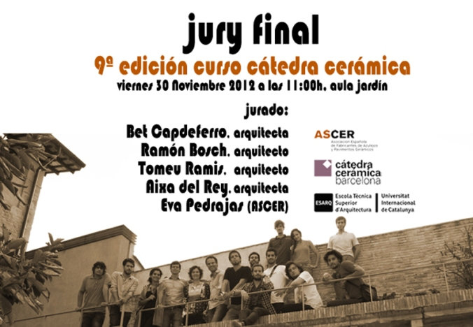 Jury Final Cátedra Cerámica