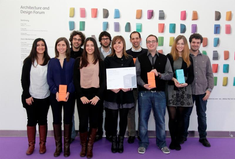 Premiados concurso diseño Cevisama. Daniel Riverola  + LLuís Casadevall.