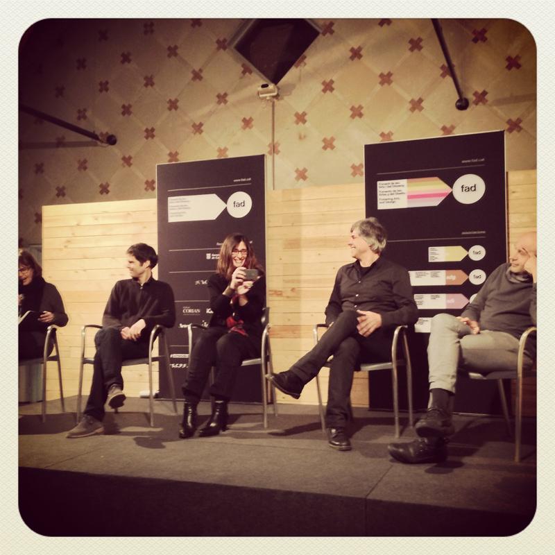 Diane Gray, Joan Vitoria, Elena Rocchi, Juan Domingo Santos, Carlos Quintáns.
