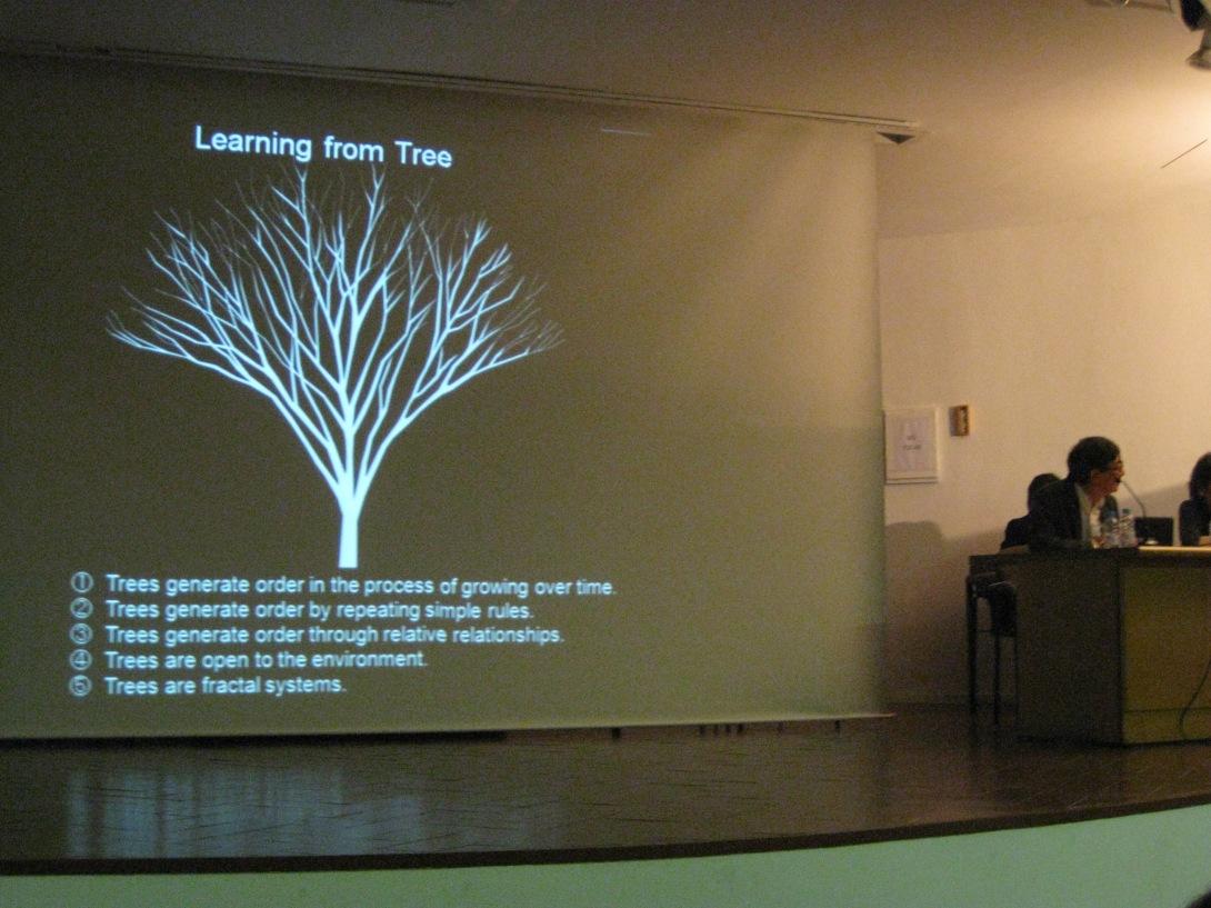 Conferencia de Toyo Ito. Alberto T. Estévez