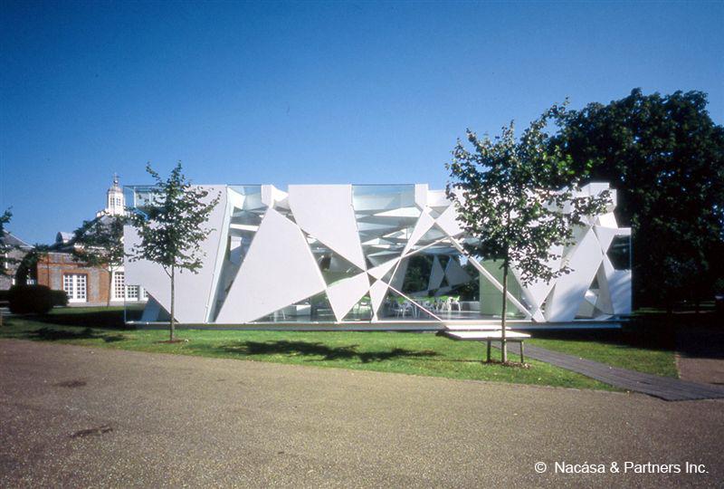 Serpentine Gallery. Toyo Ito, 2002