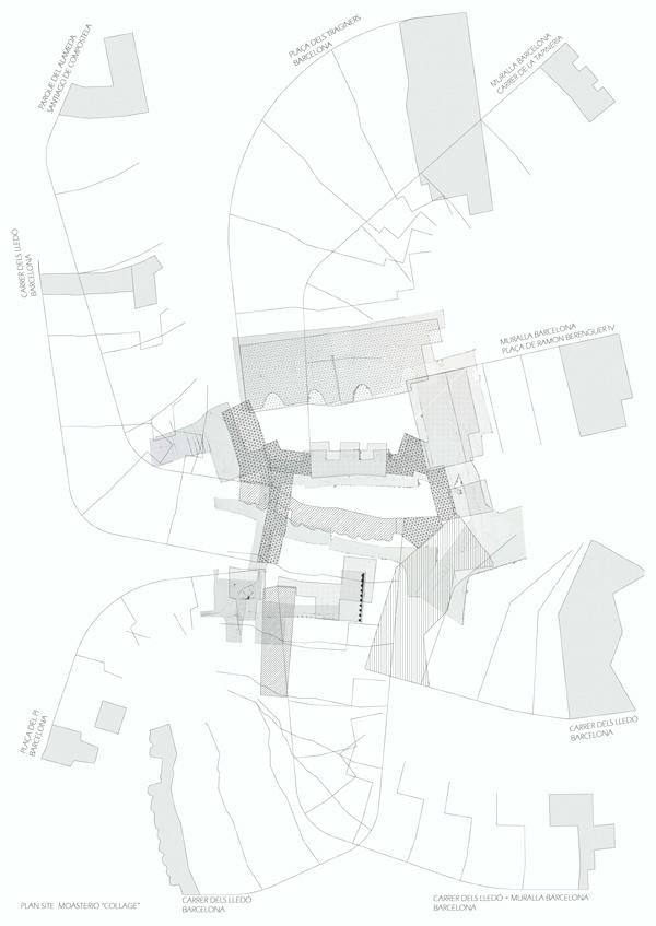Site plan ©Jaume Nart