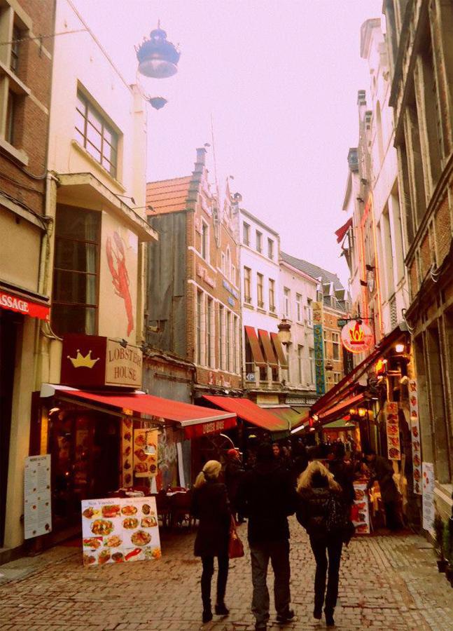 Nerea Tabernero, Bruselas.