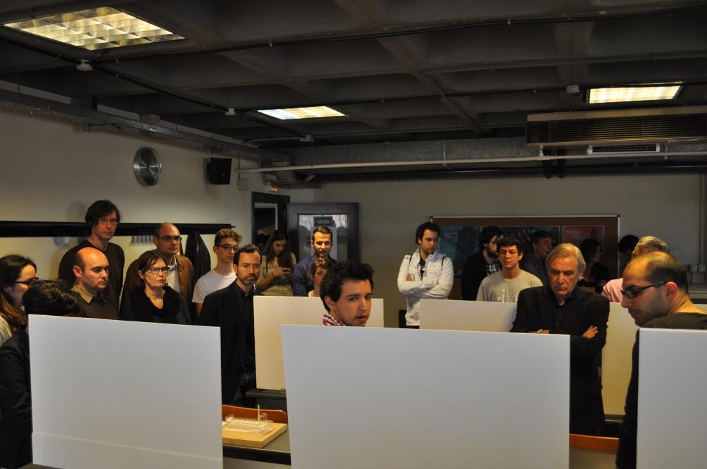 Jury Composición 4. Architectural Culture& Critical Review. Jury: Mario Corea, Alberto Estévez, Daniel Wunsch