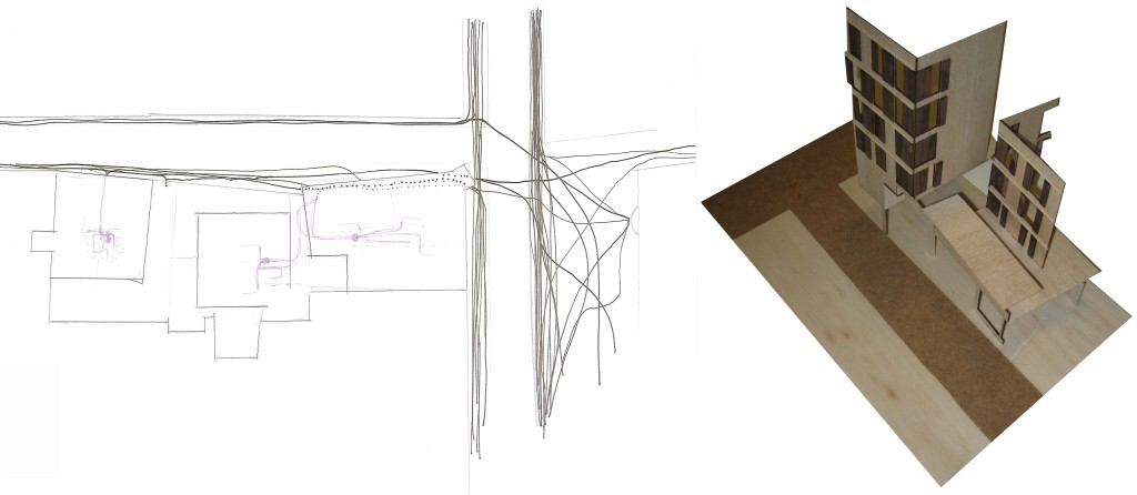_diagrama+maqueta_habitatges_raval_oriol_bernal_sara_presas