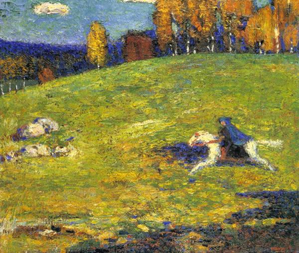 El jinete azul (1903)