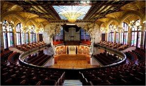Palau de la Musica Catalana (interior)