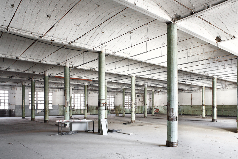 © Antigua fábrica Damm, Barcelona, 2013