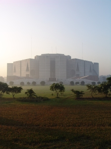 National Assembly Building of Bangladesh © Courtesy of Wikimedia Commons