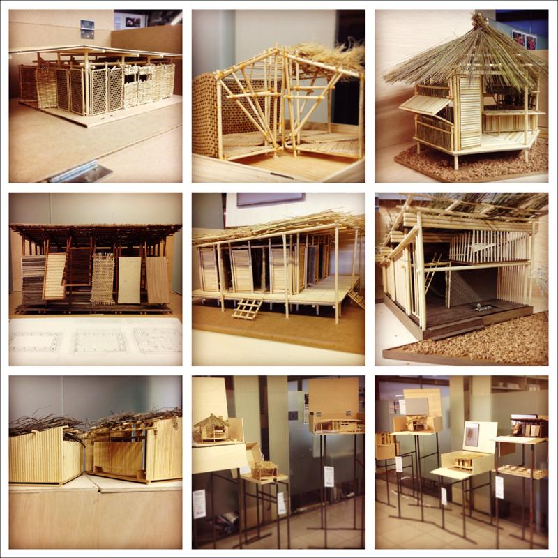 Students' Prototypes. Exhibition in 3th Floor alpha building ESARQ.