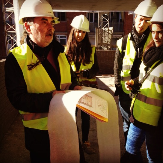 Jordi Sutrias profesor de construcción de la ESARQ-UIC