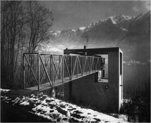 Casa Bianchi. Suiza, 1971