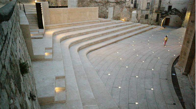 © Plaça de l'Absis de la Catedral. Tortosa
