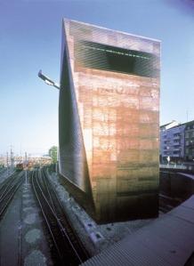 Central Signal Tower SBB, Basel, Switzerland, 1997  Photo © Margherita Spiluttini