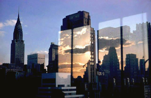 Clouds & Skyline, NY, 1957