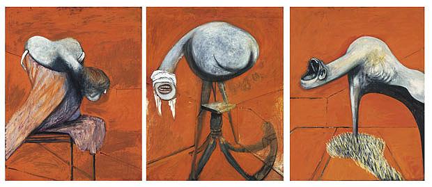 Tres estudis de figura. Francis Bacon