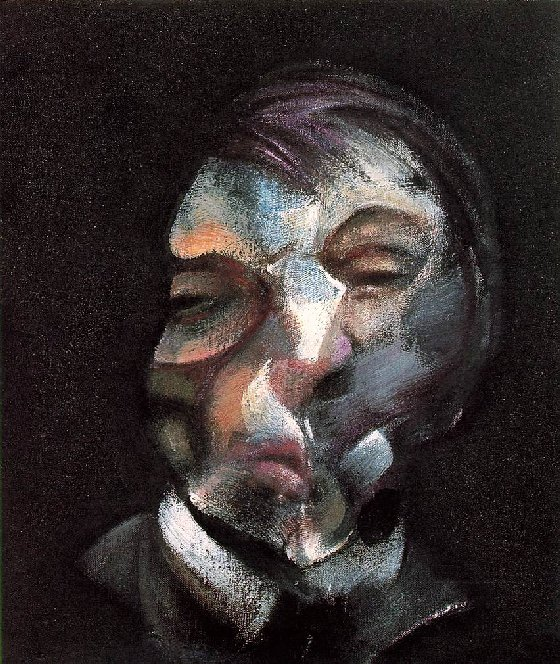 Autoretrat (1971) Oli sobre llenç. 35,5 x 30,5 cm. Francis Bacon (62 anys)