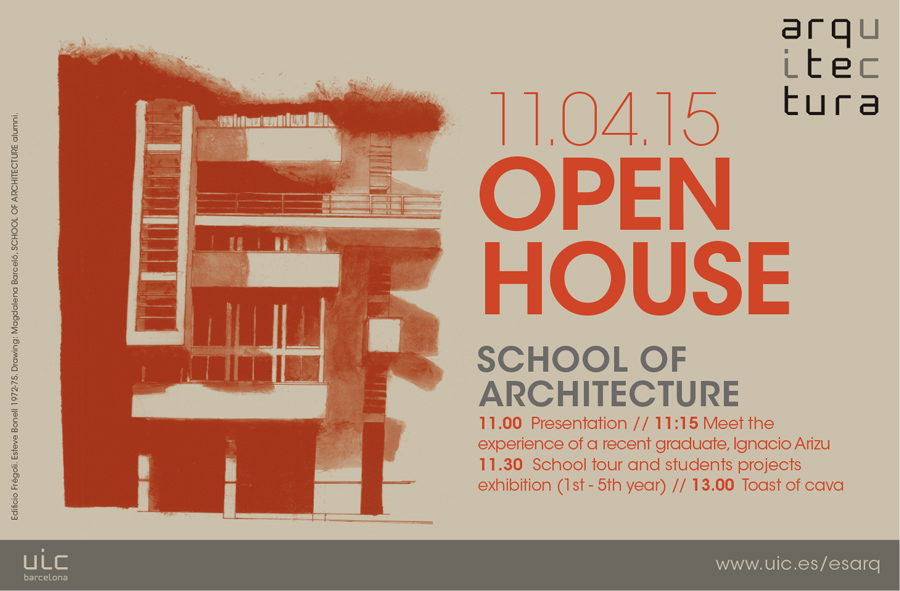 OpenHouse_SchoolOfArchitecture_April2015