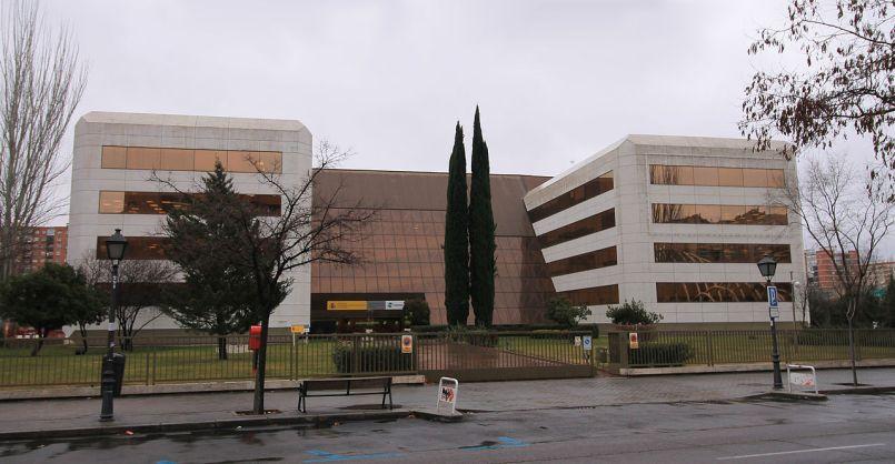 Sede central del IMSERSO (Madrid, 1990–1992).