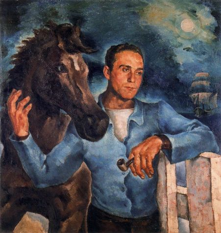 Retrato de Salvador Regües. 1934.