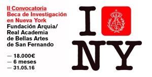 II convocatoria Beca de Investigación en Nueva York
