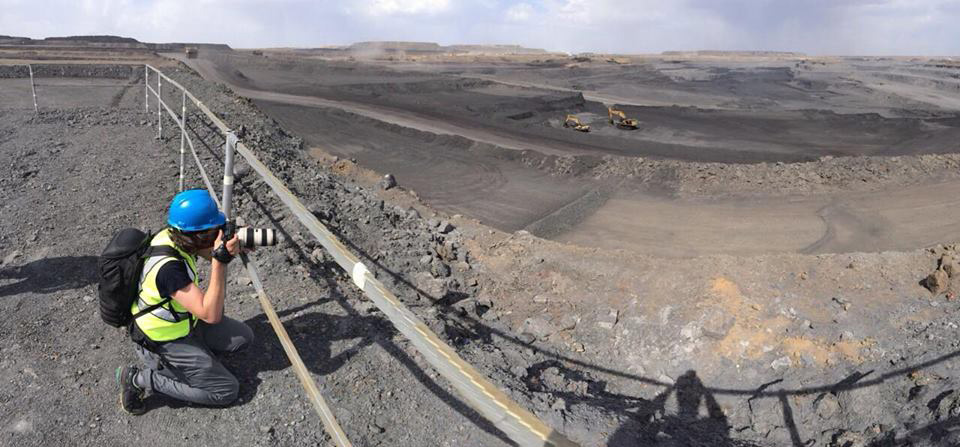 Shooting coal mines in Mongolia