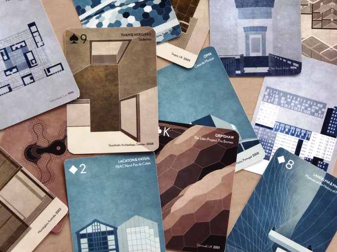 Scala. Architecture Playing Cards