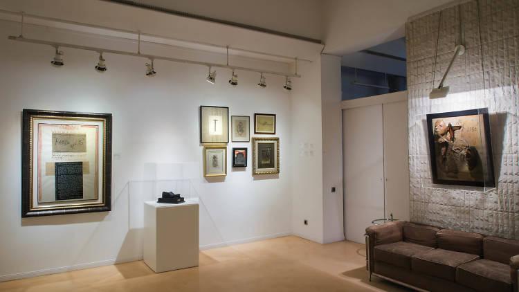 Exposición:Cuixart. Geometria experimental