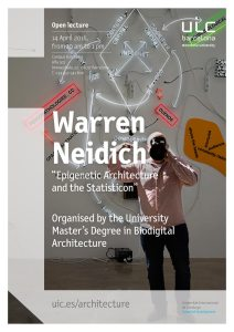 Genetic Architectures Series: special lecture by Warren Neidich