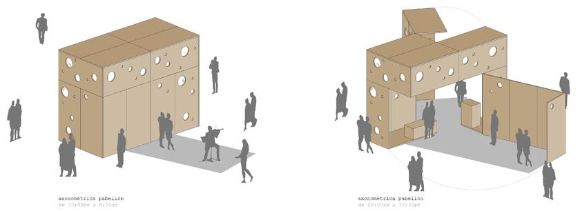 Blur Arquitectura: Concentrico 01 / Caja Mágica
