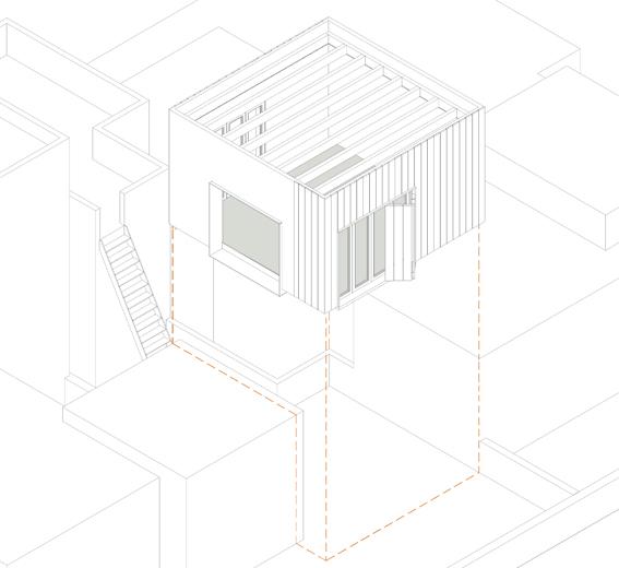 Flexo Arquitectura: Pabellón de vivienda existente