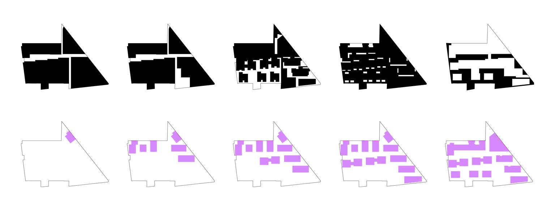 archikubik mixed block eco quartier carnot verollot ivry sur seine school of architecture. Black Bedroom Furniture Sets. Home Design Ideas