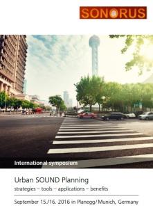 International Symposium on Urban Sound Planning
