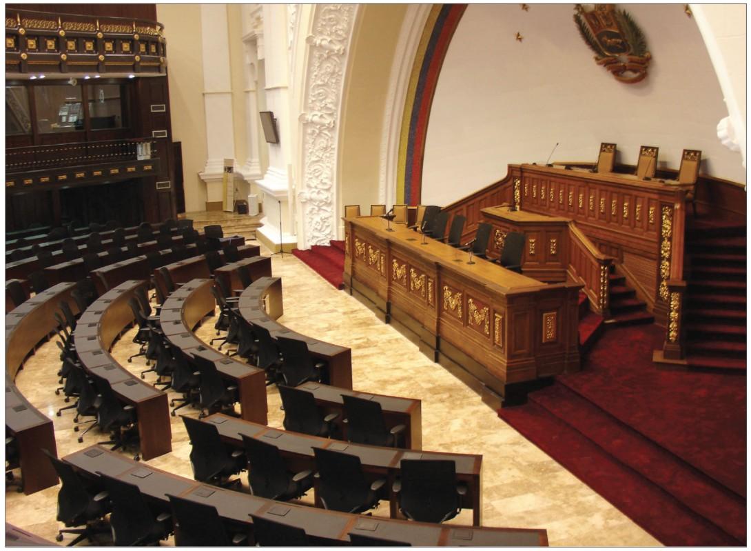 Foto 2. Hemiciclo de Sesiones